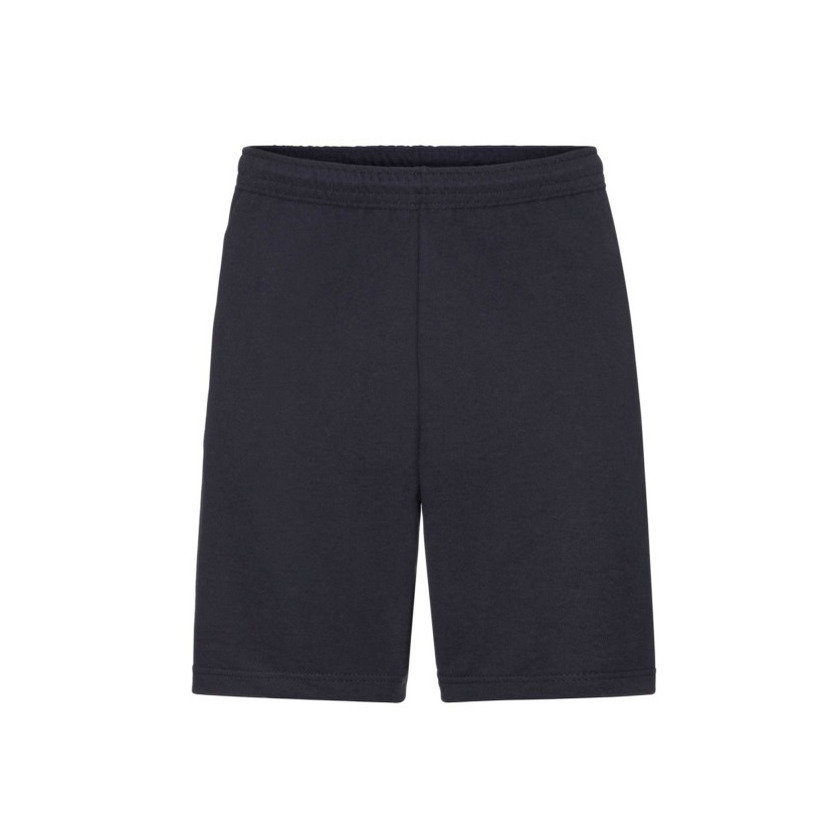 Navy blauwe shorts korte joggingbroek voor heren