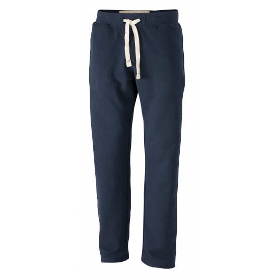 Heren navy joggingbroek vintage