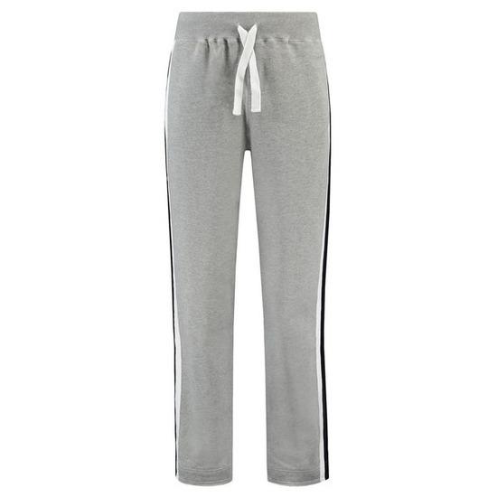 Joggingbroek/sportbroek grijs met streep voor heren