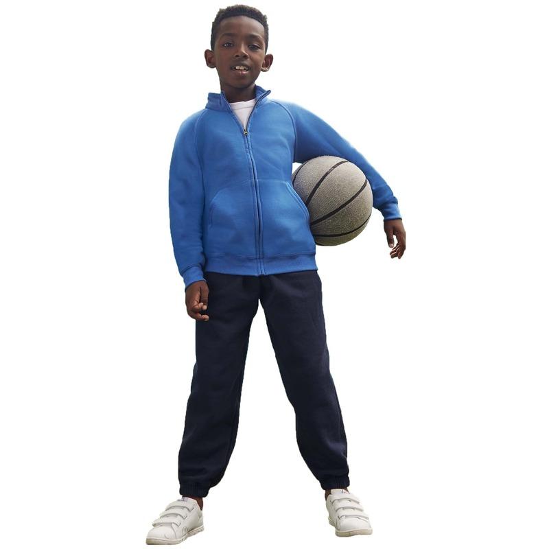 Joggingbroek sportbroek navy blauw voor kinderen