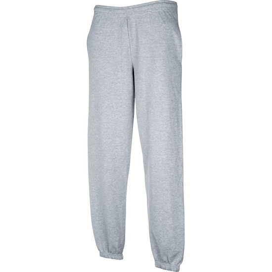 Fruit of the loom joggingbroek grijs voor volwassenen