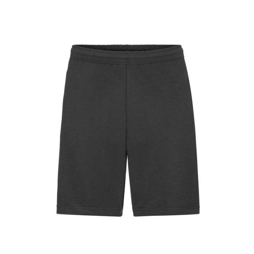 Zwarte shorts korte joggingbroek voor heren